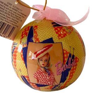 Barbie 1996 Retro Christmas Ornament Original Box